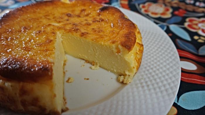 Receita cheesecake basco